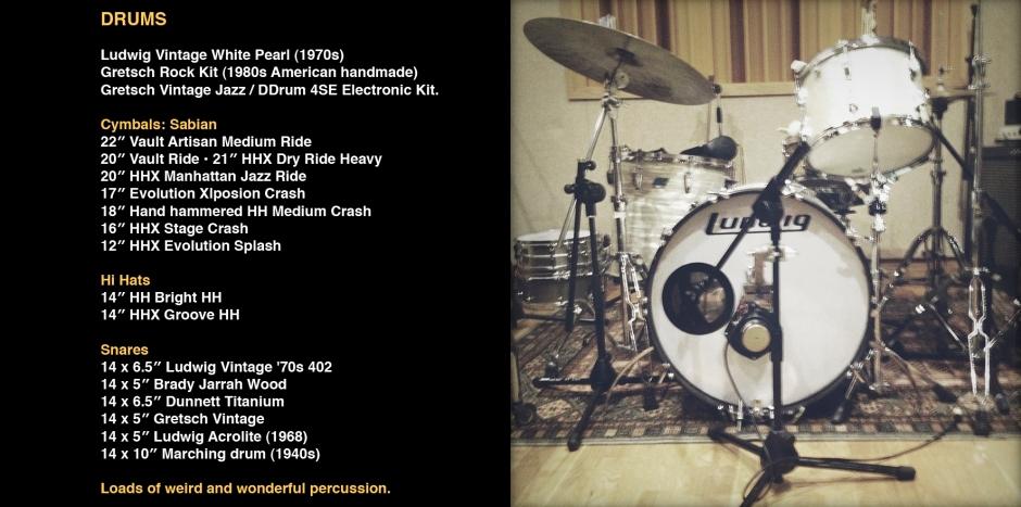 Drums Website copy